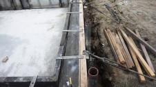 甲府市国母 漆喰と極厚フフローリングのカワイイお家 基礎工事11