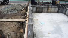 甲府市国母 漆喰と極厚フフローリングのカワイイお家 基礎工事12