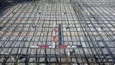 甲斐市竜王新町 自然素材にこだわるお家 基礎工事2