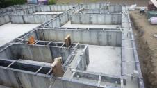山梨市 大好きな自然素材の漆喰のこだわりのお家 基礎工事7
