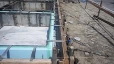 甲府市国母 漆喰と極厚フフローリングのカワイイお家 基礎工事8