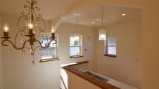 中央市浅利 自然素材の漆喰外壁のお家 キッチンエリア3