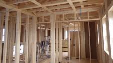 甲斐市竜王新町 自然素材にこだわるお家 内装工事1