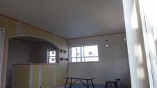 甲斐市竜王新町 自然素材にこだわるお家 内装工事14