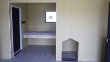 甲府市山宮町 インダストリアルデザインのお家 内装工事15