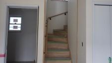 甲斐市竜王新町 自然素材にこだわるお家 内装工事16