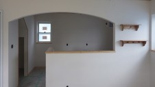 甲斐市竜王新町 自然素材にこだわるお家 内装工事17