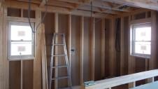 甲斐市竜王新町 自然素材にこだわるお家 内装工事2