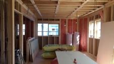 甲斐市竜王新町 自然素材にこだわるお家 内装工事5