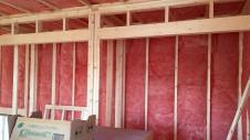 甲斐市竜王新町 自然素材にこだわるお家 内装工事6