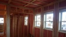 甲斐市竜王新町 自然素材にこだわるお家 内装工事7