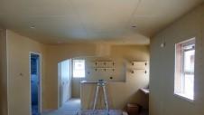 甲府市国母 漆喰と極厚フフローリングのカワイイお家 内装工事10