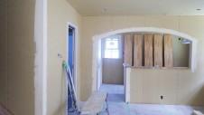 甲府市国母に建つ漆喰と極厚フローリングのかわいい家