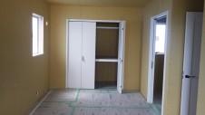 山梨市 大好きな自然素材の漆喰のこだわりのお家 内装工事14