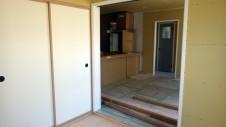 山梨市 大好きな自然素材の漆喰のこだわりのお家 内装工事17