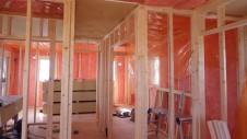 山梨市 大好きな自然素材の漆喰のこだわりのお家 内装工事6