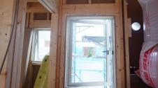 山梨市 大好きな自然素材の漆喰のこだわりのお家 内装工事2