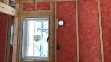 山梨市 大好きな自然素材の漆喰のこだわりのお家 内装工事8