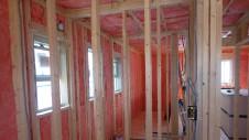 甲府市国母 漆喰と極厚フフローリングのカワイイお家 内装工事6