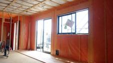 甲斐市 書斎からガレージが見えるインダストリアルデザインのお家 内装工事5