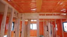 甲斐市 書斎からガレージが見えるインダストリアルデザインのお家 内装工事7