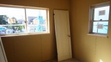 甲府市国母 漆喰と極厚フフローリングのカワイイお家 内装工事8