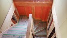 甲斐市 書斎からガレージが見えるインダストリアルデザインのお家 内装工事9
