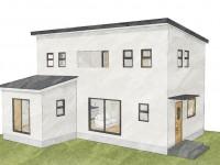 甲府市山宮町に建つインダストリアルデザインのお家