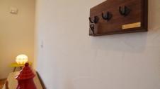 甲斐市に建つ自然素材にこだわるお家 造作アイアンのキーフック