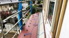 南アルプス市の仲良し家族のお家 外装工事3