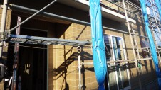 南アルプス市の仲良し家族のお家 外装工事4
