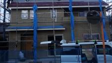 南アルプス市の仲良し家族のお家 外装工事6