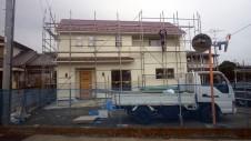 南アルプス市の仲良し家族のお家 外装工事10