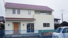 南アルプス市の仲良し家族のお家 外装工事11