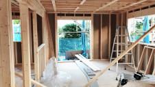 南アルプス市の仲良し家族のお家 上棟工事4