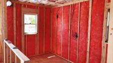 甲斐市に建つレザークラフト屋さんのかわいいお家 内装工事1