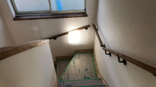 甲斐市に建つレザークラフト屋さんのかわいいお家 内装工事11