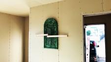 甲斐市に建つレザークラフト屋さんのかわいいお家 内装工事4