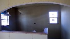 甲斐市に建つレザークラフト屋さんのかわいいお家 内装工事9