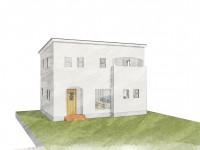笛吹市に建つくつろぎのカフェスタイルのお家