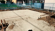笛吹市に建つくつろぎのカフェスタイルのお家 地盤調査3