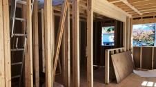 笛吹市に建つくつろぎのカフェスタイルのお家 上棟工事11