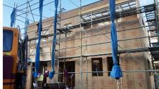 笛吹市に建つくつろぎのカフェスタイルのお家 基礎工事11