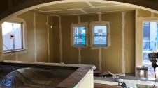 笛吹市に建つくつろぎのカフェスタイルのお家 内装工事8