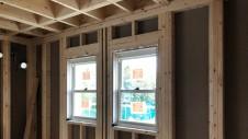 笛吹市に建つくつろぎのカフェスタイルのお家 内装工事3