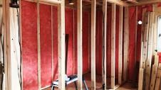 笛吹市に建つくつろぎのカフェスタイルのお家 内装工事4