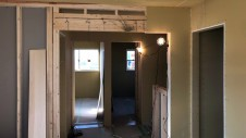 笛吹市に建つくつろぎのカフェスタイルのお家 内装工事5