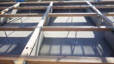 甲州市に建つ太陽光発電とお庭にこだわったお家 土台敷き1