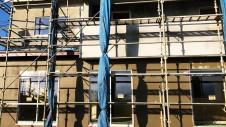 甲州市に建つ太陽光発電とお庭にこだわったお家 外装工事9
