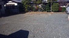 中央市に建つ日当たり良好で木のぬくもりを感じるお家 地盤調査1